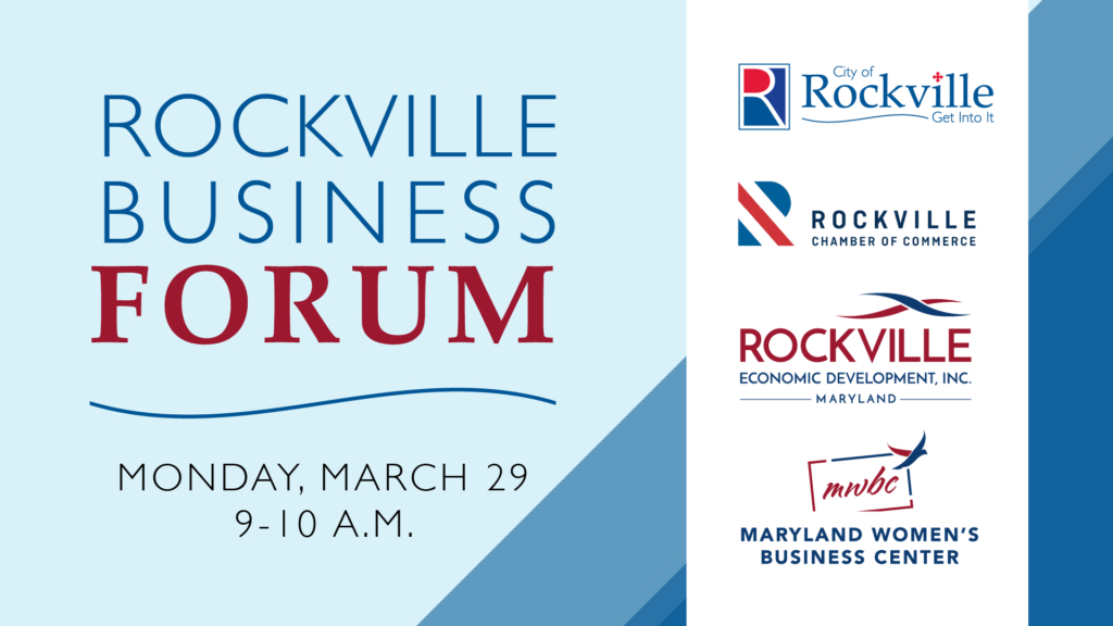 Second Rockville Business Forum to be Held on March 29