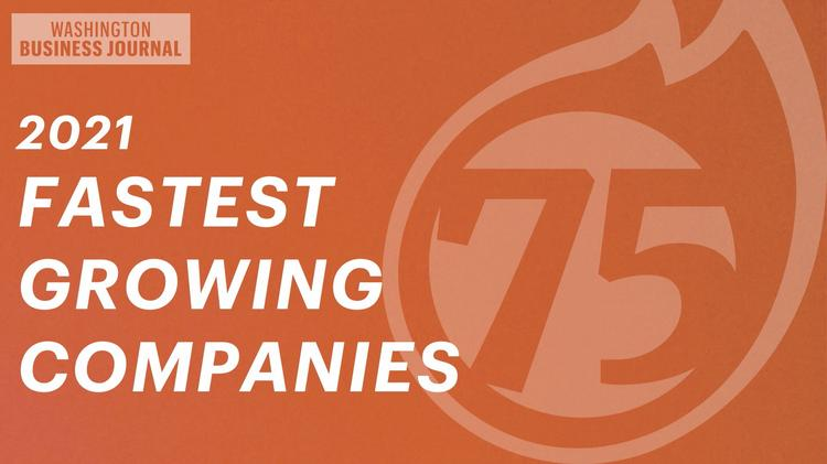 Three Rockville Businesses Listed Among 75 Fastest-growing Greater Washington Companies